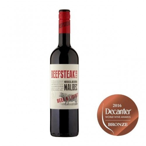 The Beefsteak Club – Beef & Liberty, Malbec - Wino do steka